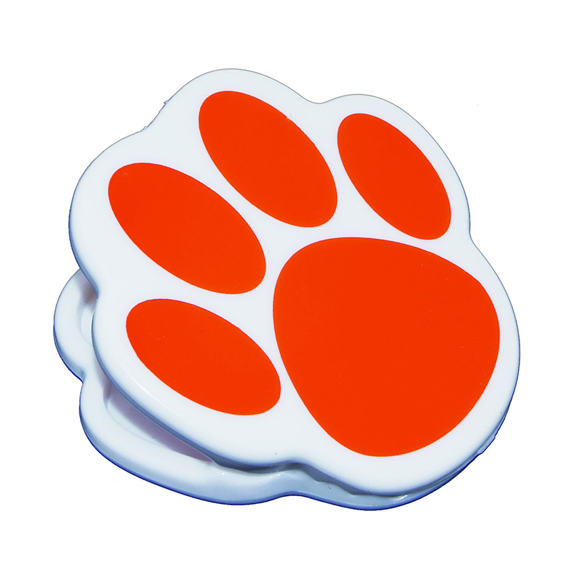 (12 Ea) Magnet Clips Orange Paw  ASH10222BN