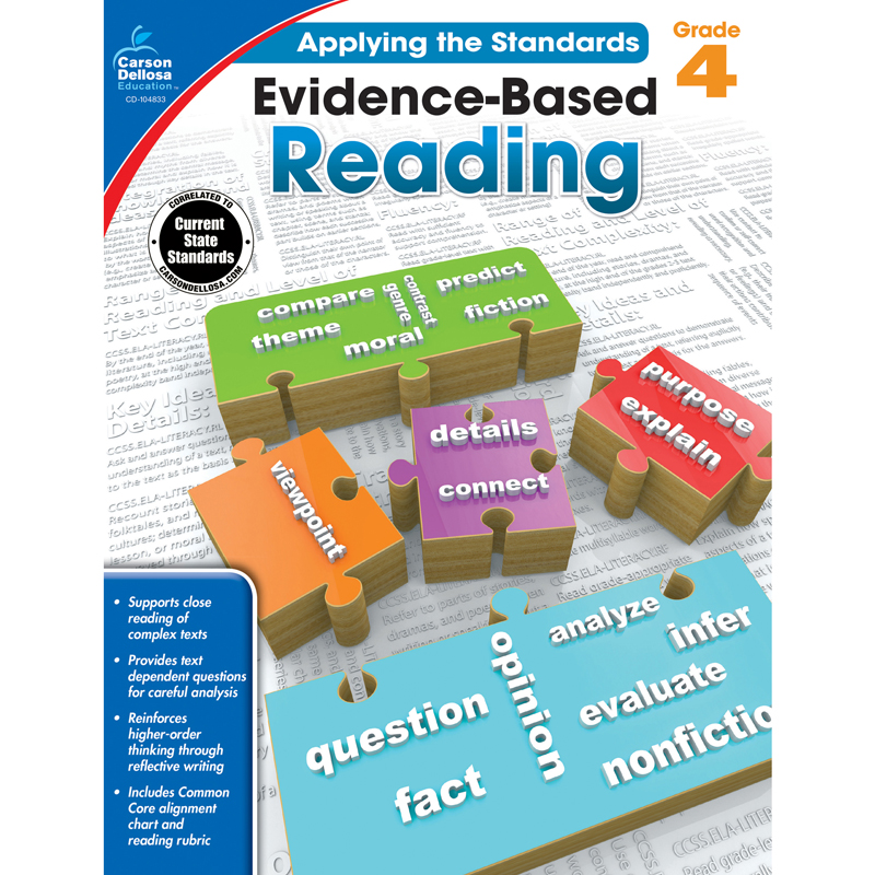 Evidence-Based Reading Grade 4 Workbook