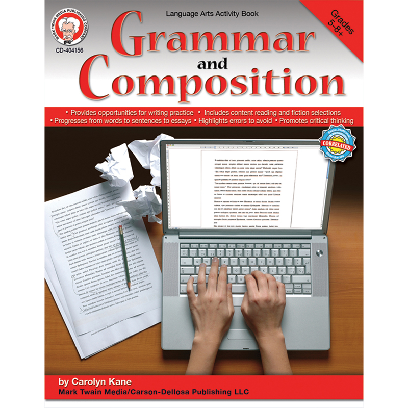 (2 Ea) Grammar And Composition Gr 5 -8 CD-404156BN