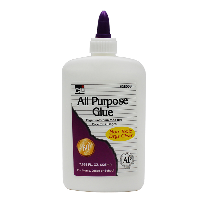 (12 Ea) Charles Leonard 7.62Oz All Purpose Glue CHL38008BN