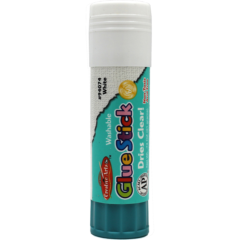 Economy glue stick 74oz clear for Craft glue that dries clear