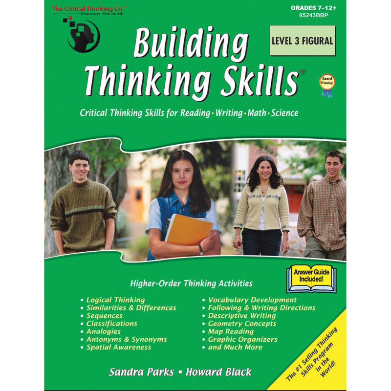 building critical thinking skills level 1 Critical thinking beginning thinking mind exercises  on sale building thinking skills, level 1 (sll19109) $2999 $1500 add to cart add to compare.