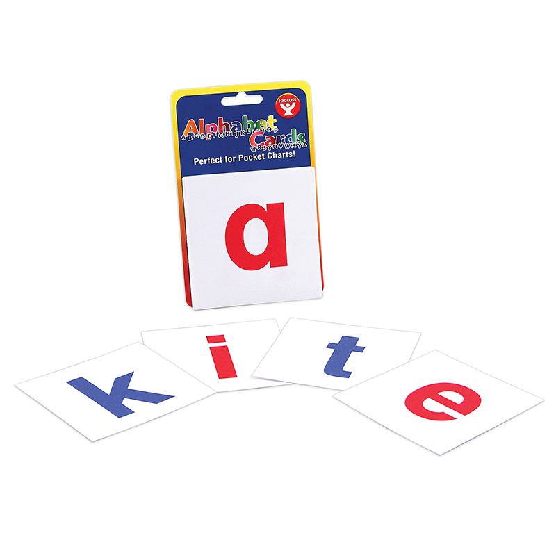 (12 Ea) Alphabet Cards A-Z Lower Case Letters HYG61493BN
