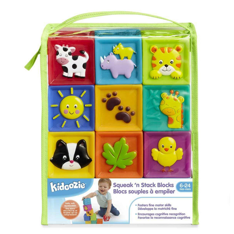 Squeak N Stack Baby Blocks Office Church School Supply