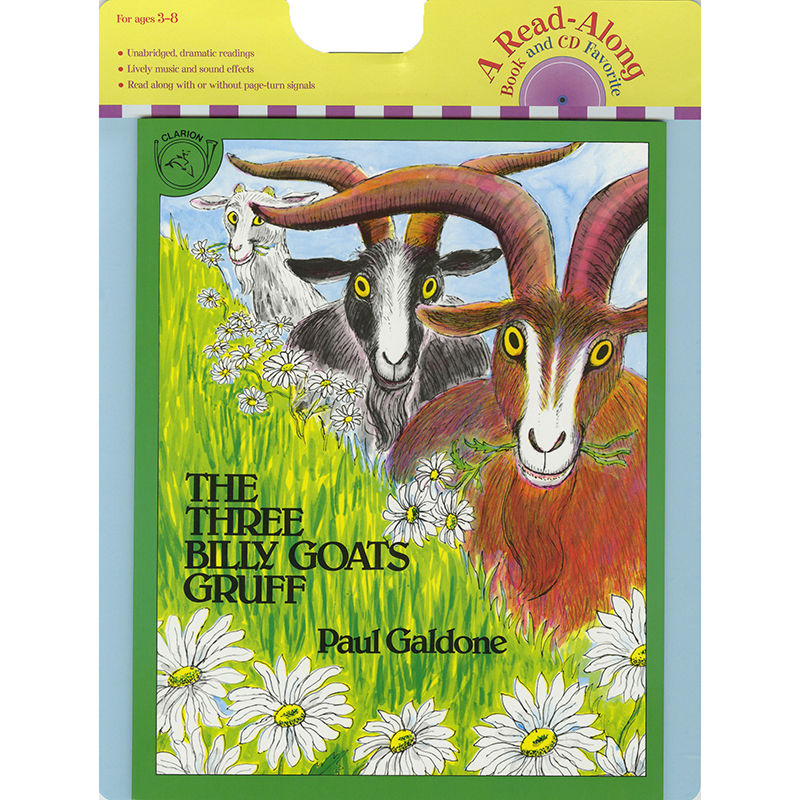 Carry Along Book & Cd The Three Billy Goats Gruff