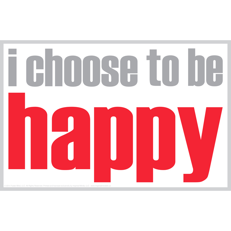 (12 Ea) I Choose To Be Happy Magnet  ISM0027MBN