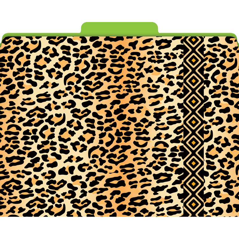 (3 Pk) Functional File Folders Leopard LAS1320FBN