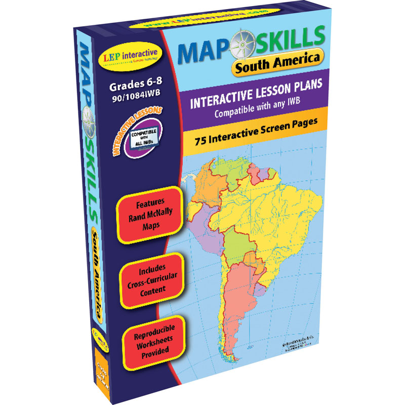 Map skills south america interactive whiteboard software the map skills south america interactive whiteboard software gumiabroncs Choice Image