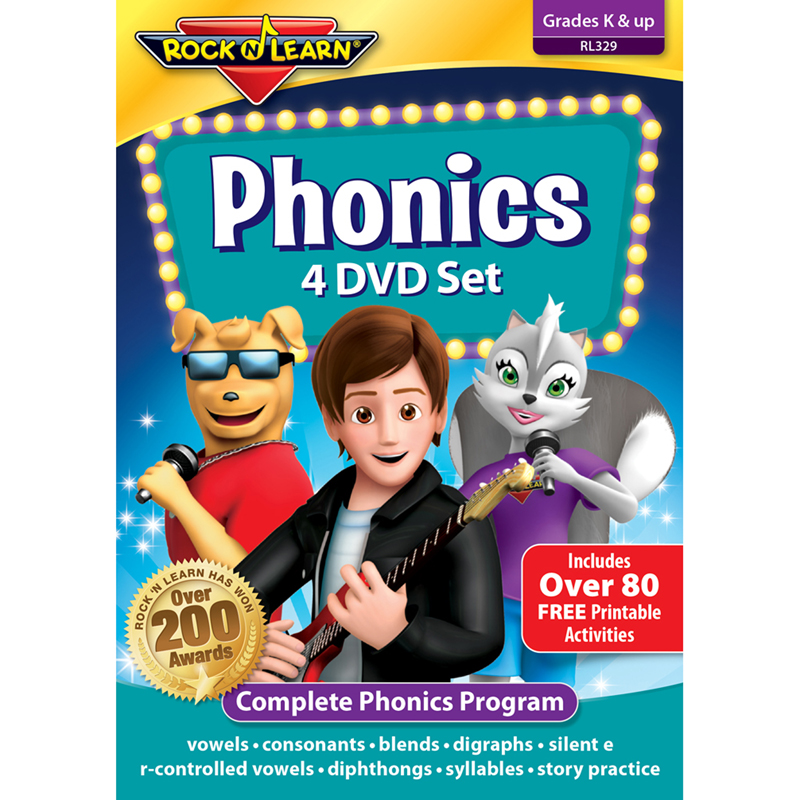 Review - Rock 'N Learn Phonics Volume 1 and 2 DVDs ~ Learn ...