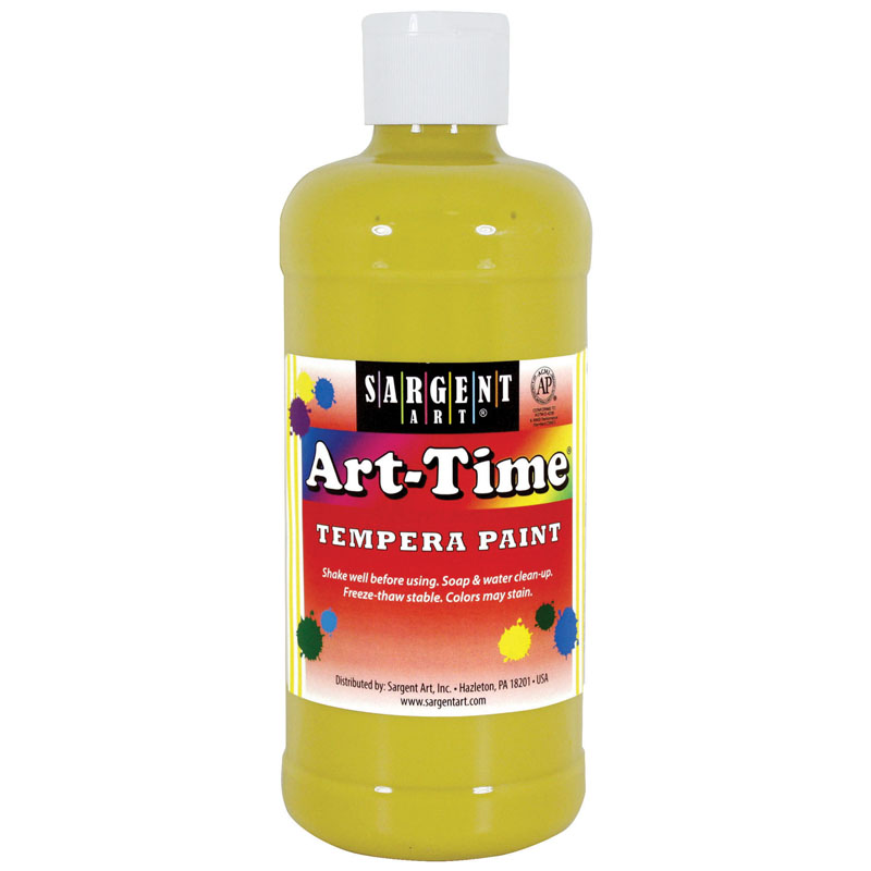 (12 Ea) Yellow Art-Time 16 Oz  SAR176402BN