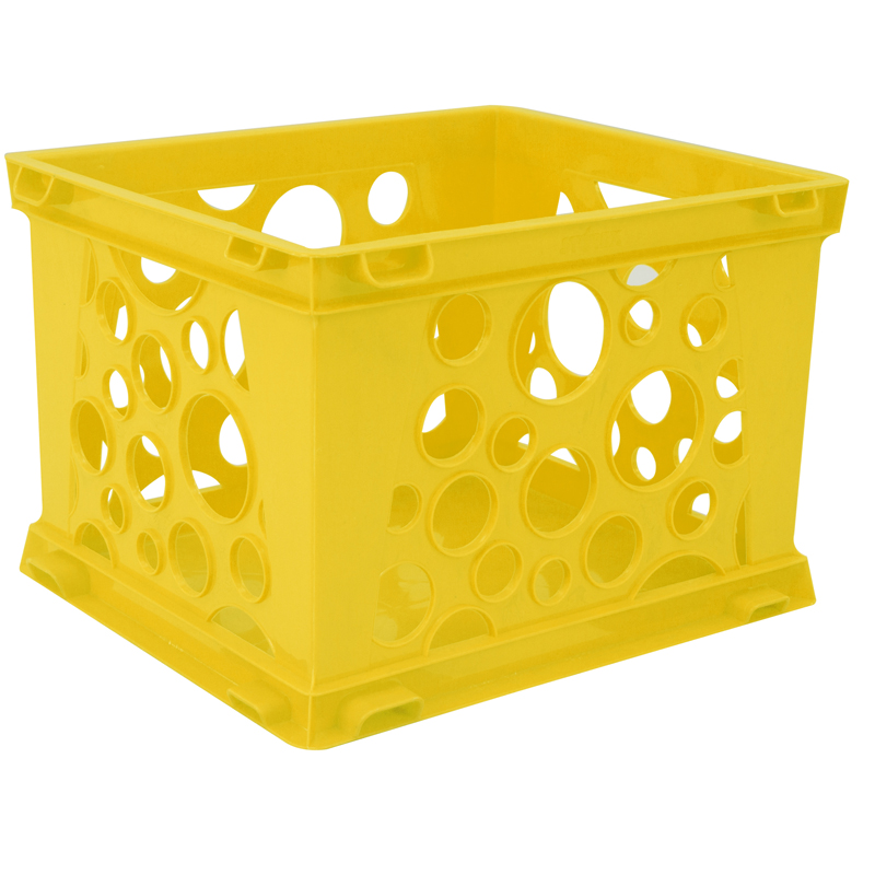 (12 Ea) Micro Crate Yellow  STX63106U18CBN