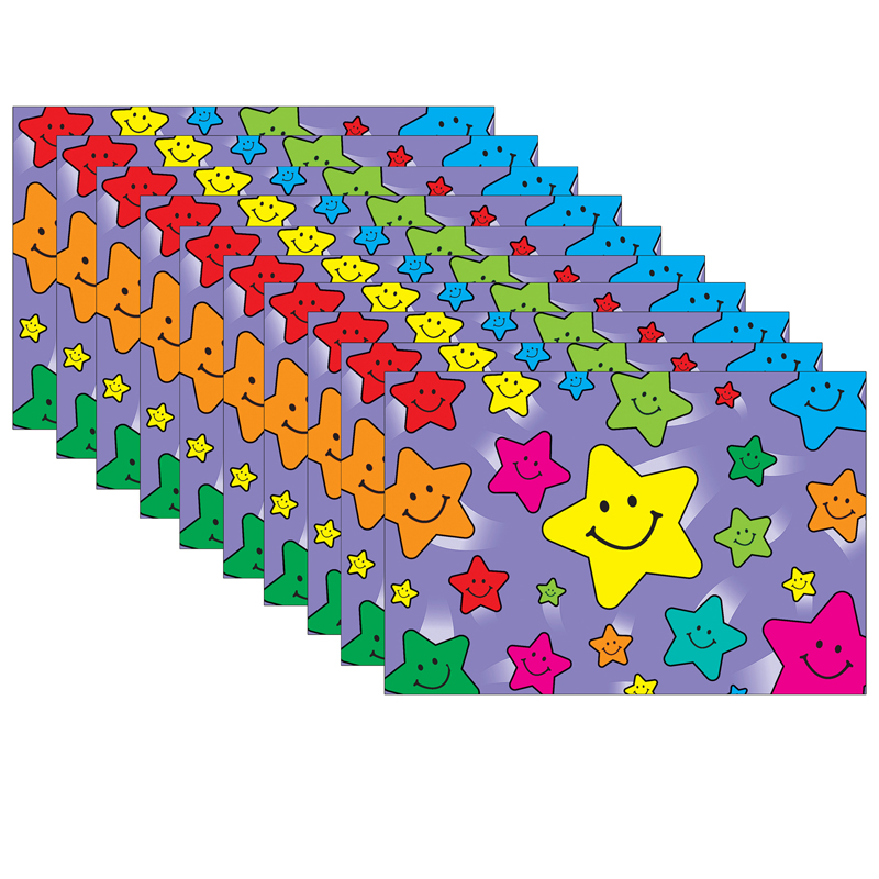 (10 Pk) Happy Stars Postcards 30 Per Pk TCR1972BN