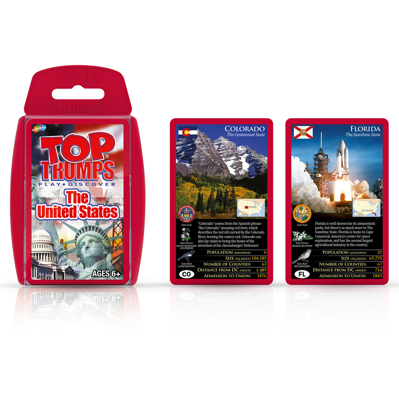 Top Trumps Rules >> The United States Top Trumps Card Game Office Church